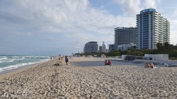 Miami Beach tengerpartja