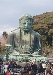 a Nagy Buddha-szobor Kamakurában