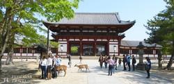 Nara: a Todaiji-templom bejárata