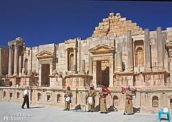 a színház romjai Jerashban