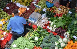 színek, ízek, formák kavalkádja a funchali piacon