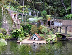 részlet a Monte Palace Trópusi Kertből