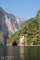 Chiapas nevezetessége, a Sumidero–kanyon