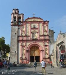Cuernavaca – a katedrális barokk kápolnája