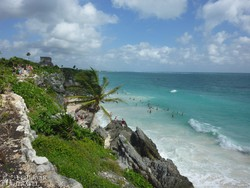 Tulum romjai a Karib–tenger partján