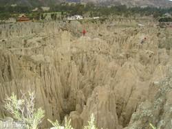 a Hold-völgye La Pazban
