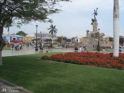Trujillo főtere – részlet