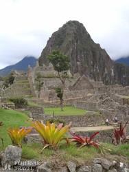 Machu Picchu romvárosa – részlet