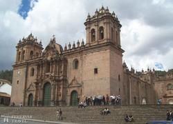 a katedrális Cuzco főterén