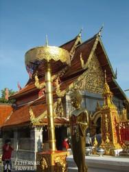 a Lumpang Luang templom Lampang közelében