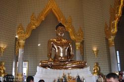 az Arany Buddha Templom legendás szobra