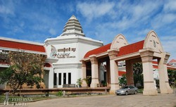 az Angkor Nemzeti Múzeum Siem Reapban