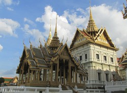 a bangkoki királyi palota – részlet