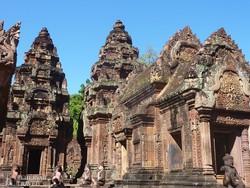 "Banteay Srei, Angkor ""ékszerdoboza"""