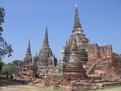 Ayutthaya lenyűgöző romvárosa – részlet
