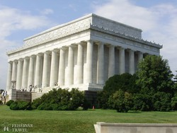 a Lincoln-emlékmű Washingtonban
