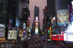 New York – a Time Square alkonyatkor