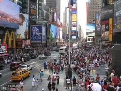 New York – a Times Square forgataga
