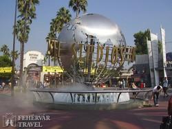 útban a Universal Studios-hoz