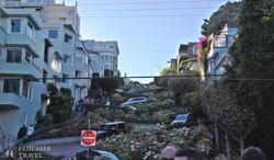 a világ legkanyargósabb utcája – a San Franciscóiak szerint