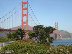 San Francisco jelképe, a Golden Gate híd
