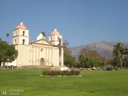 az egykori misszió épülete Santa Barbarában