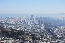 San Francisco madártávlatból