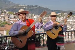 helyi zenészek Taxcóban