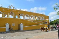 Izamal: a Szent Antal-kolostor – részlet