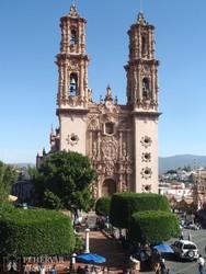 Taxco – a Santa Prisca-templom