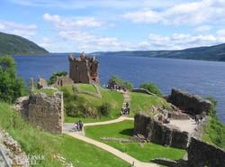 Urquart vára a Loch Ness-i tó partján