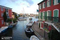 Port Grimaud – a XX. század Velencéje