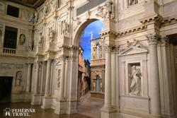 Vicenza: a Teatro Olimpico, Palladio egy másik remekműve – részlet