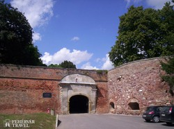 a szigetvári vár egyik kapuja