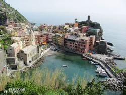 Vernazza, a Cinque Terre egyik halászfaluja