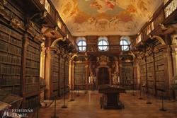 a Melki apátság könyvtára