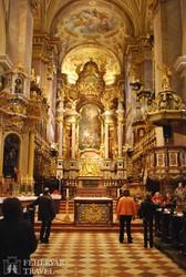 Klosterneuburg kolostortemplomának díszes főoltára