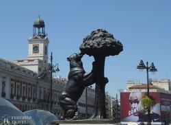 Madrid címerállata: a medve