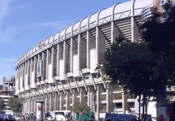 a Real Madrid híres stadionja: az Estadio Santiago Bernabéu
