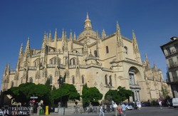 Segovia katedrálisa
