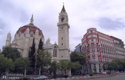 a San Manuel és San Benito templom Madridban