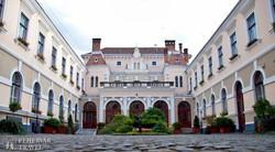 a városháza belső udvara Székelyudvarhelyen
