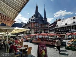 Wernigerode: a mesebeli városháza