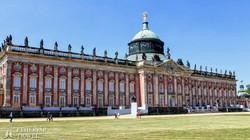 Potsdam: a Neues Palais (Új Palota) a Sanssouci Parkban