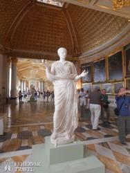 Potsdam: a Képtár egy részlete a Sanssouci palotaegyüttesben