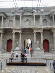 Berlin: a Milétoszi Piac-kapu a Pergamon Múzeumban – részlet
