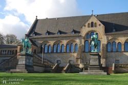 Gosslar: a Kaiserpfalz (a középkori császári palota) részlete