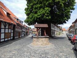 Wernigerode favázas házai
