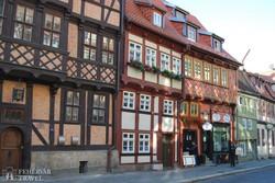 quedlinburgi utcarészlet