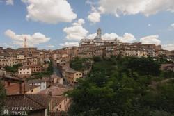 Siena látképe